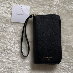 New with tags Kate Spade wallet/ phone case